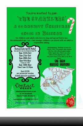 A Christmas Community Choir in Brixham - Sunday 18 November 2018 11 am