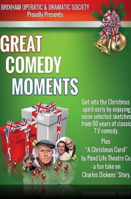 BOADS presents 'Great Comedy Moments' - Wednesday 14 December 7.45 pm