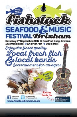 BATS Stand at Fishstock - Saturday 9 September 2017 10.00 to 17.00