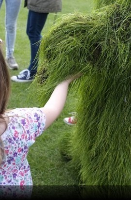 Grass Men - Sunday 9th June,  Berry Head, Brixham 2 - 3 pm