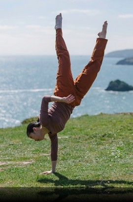 Silence Between Waves | Richard Chappell Dance Sunday 9th June 3.30 pm at Berry Head Napoleonic Fort