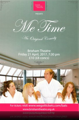 Lesser Spotted Theatre - 'Me Time' - Friday 21 April 7.30 pm