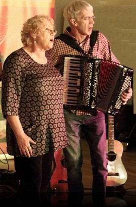 Brixham Folk Night with Paul Wilson &  Marilyn Tucker - Friday 7 October 7.30 pm in the Theatre Lounge Bar