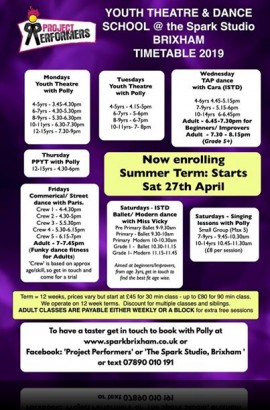 The Spark Summer Term Classes