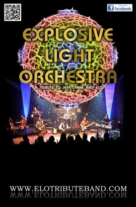 Explosive Light Orchestra in concert - Saturday 2 December 7.30 PM