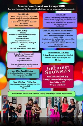 Summer Workshops Week at The Spark - Day 1